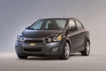 2015 Chevrolet Sonic Sedan in Ashen Gray Metallic - Static Front Left View