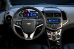 Picture of 2015 Chevrolet Sonic Sedan Cockpit in Jet Black / Dark Titanium