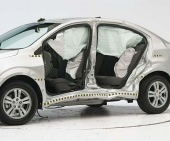 2016 Chevrolet Sonic IIHS Side Impact Crash Test Picture