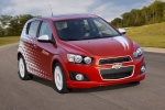 2016 Chevrolet Sonic Hatchback LTZ - Driving Front Right View