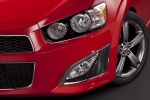 Picture of 2016 Chevrolet Sonic Hatchback RS Headlight