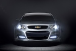 2015 Chevrolet SS in Silver Ice Metallic - Static Frontal View