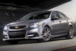 2015 Chevrolet SS in Silver Ice Metallic - Static Front Left Three-quarter View