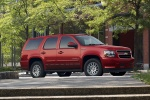 2010 Chevrolet Tahoe Hybrid in Red Jewel Tintcoat - Static Front Right Three-quarter View