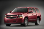 2011 Chevrolet Tahoe Hybrid in Red Jewel Tintcoat - Static Front Left View