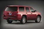 2011 Chevrolet Tahoe Hybrid in Red Jewel Tintcoat - Static Rear Right View