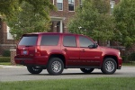 2011 Chevrolet Tahoe Hybrid in Red Jewel Tintcoat - Static Rear Right Three-quarter View