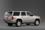 2013 Chevrolet Tahoe LTZ in Champagne Silver Metallic - Static Rear Right Three-quarter View