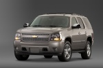 2013 Chevrolet Tahoe LTZ in Champagne Silver Metallic - Static Front Left View