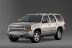 2013 Chevrolet Tahoe LTZ in Champagne Silver Metallic - Static Front Left Three-quarter View