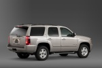 2014 Chevrolet Tahoe LTZ in Champagne Silver Metallic - Static Rear Right Three-quarter View