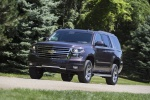 2015 Chevrolet Tahoe LT 4WD Z71 in Sable Metallic - Driving Front Left Three-quarter View