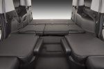 Picture of a 2016 Chevrolet Tahoe's Seats Folded