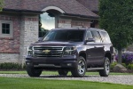 Picture of a 2016 Chevrolet Tahoe LT 4WD Z71 in Sable Metallic from a front left perspective