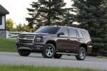 Picture of a 2016 Chevrolet Tahoe LT 4WD Z71 in Sable Metallic from a front left three-quarter perspective