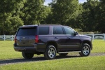 Picture of a 2016 Chevrolet Tahoe LT 4WD Z71 in Sable Metallic from a rear right three-quarter perspective