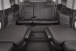 Picture of a 2017 Chevrolet Tahoe's Middle Row Seats Folded