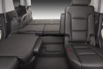 Picture of a 2017 Chevrolet Tahoe's Rear Seats Folded