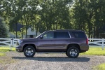 Picture of a 2017 Chevrolet Tahoe LT 4WD Z71 from a side perspective
