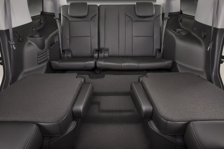 2018 Chevrolet Tahoe Middle Row Seats Folded Picture