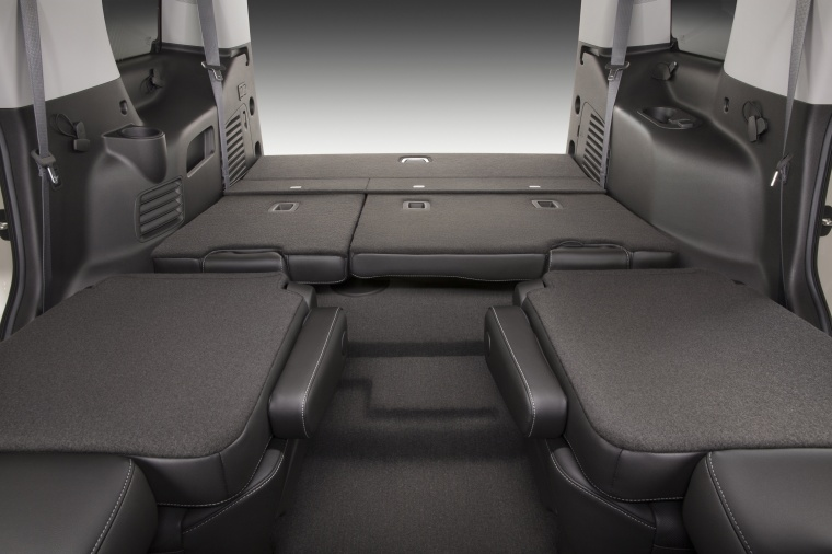 2018 Chevrolet Tahoe Seats Folded Picture