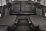 Picture of a 2019 Chevrolet Tahoe's Middle Row Seats Folded