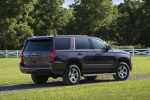 Picture of a 2019 Chevrolet Tahoe LT 4WD Z71 from a rear right three-quarter perspective