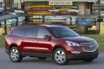 2010 Chevrolet Traverse LTZ in Red Jewel Tintcoat - Static Front Right View