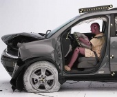 2011 Chevrolet Traverse IIHS Frontal Impact Crash Test Picture