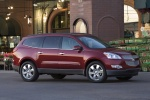 2011 Chevrolet Traverse LTZ in Red Jewel Tintcoat - Static Front Right Three-quarter View
