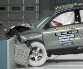2012 Chevrolet Traverse IIHS Frontal Impact Crash Test Picture