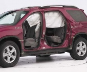 2012 Chevrolet Traverse IIHS Side Impact Crash Test Picture
