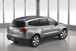 Picture of 2012 Chevrolet Traverse LTZ in Silver Ice Metallic