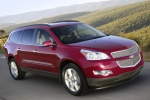 2012 Chevrolet Traverse LTZ in Crystal Red Tintcoat - Driving Front Right Three-quarter View