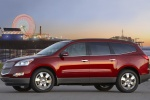 Picture of 2012 Chevrolet Traverse LTZ in Crystal Red Tintcoat