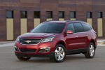 2013 Chevrolet Traverse LTZ AWD in Crystal Red Tintcoat - Static Front Left Three-quarter View