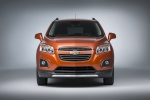2016 Chevrolet Trax LTZ AWD in Orange Rock Metallic - Static Frontal View
