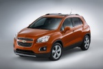 2016 Chevrolet Trax LTZ AWD in Orange Rock Metallic - Static Front Left Three-quarter View