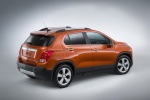 2016 Chevrolet Trax LTZ AWD in Orange Rock Metallic - Static Rear Right Three-quarter View