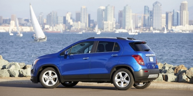 2016 Chevrolet Trax Pictures