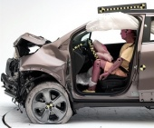 2018 Chevrolet Trax IIHS Frontal Impact Crash Test Picture