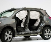 2018 Chevrolet Trax IIHS Side Impact Crash Test Picture