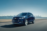 2019 Chevrolet Trax Premier in Storm Blue Metallic - Driving Front Left Three-quarter View