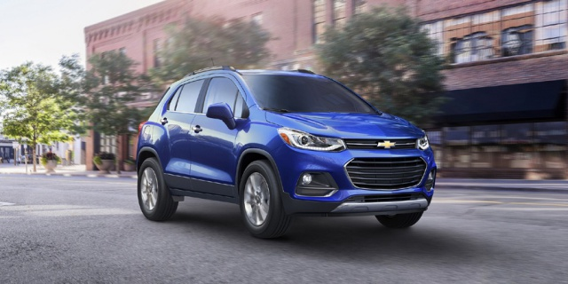 Research the 2019 Chevrolet Trax