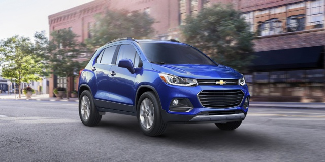Research the 2020 Chevrolet Trax