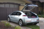 2011 Chevrolet Volt in Silver Ice Metallic - Static Rear Left View