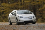 2011 Chevrolet Volt in White Diamond Tricoat - Driving Front Right View