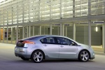 2011 Chevrolet Volt in Silver Ice Metallic - Static Rear Right Three-quarter View