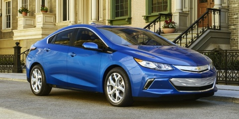 2016 Chevrolet Volt Hybrid Sedan LT, Premier, Chevy Review