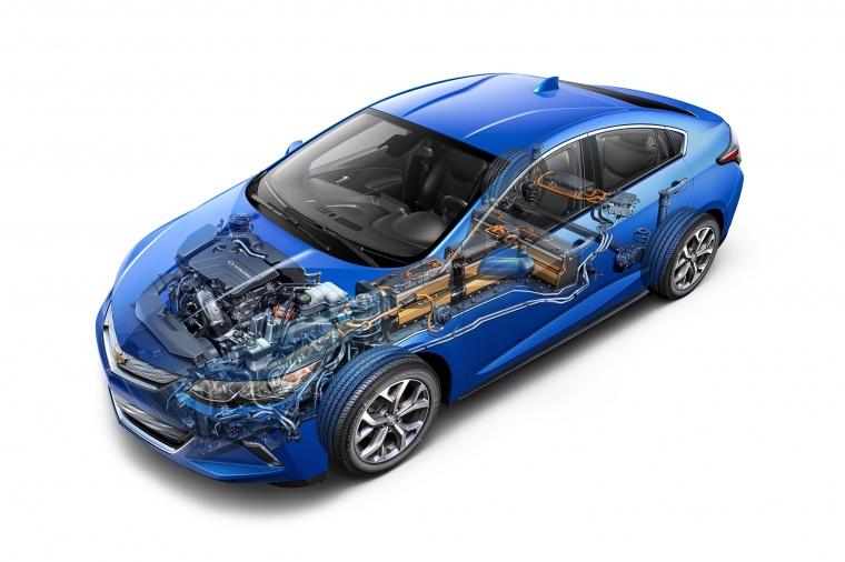 2017 Chevrolet Volt Powertrain Picture